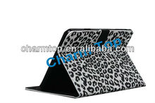 Leopard Style Stand Leather Cover For iPad Mini