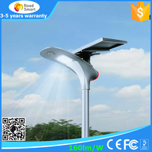 5 years warranty outdoor waterproof IP65 all in one solar street light integrated LED garden solar light with motion sensor