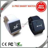 2014 hot sell perfect design fashionable health pedometer wrist GSM bluetooth smartwatch