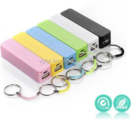 (2016 HOT) Big Promotions Perfume 2600mAh Power Bank for iPhone/Android, Mobile Power Bank 2600mAh with Key Chain for Gift/Sale