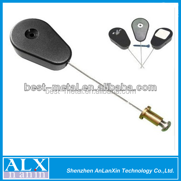 retractable security wire metal cable retractable anti theft pull box buy anti theft pull