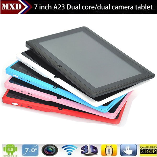 7 Inch Tablet Pc With Android 4.4 Os Google Market Support ...