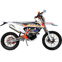 High speed gas powered 450cc dirt bike