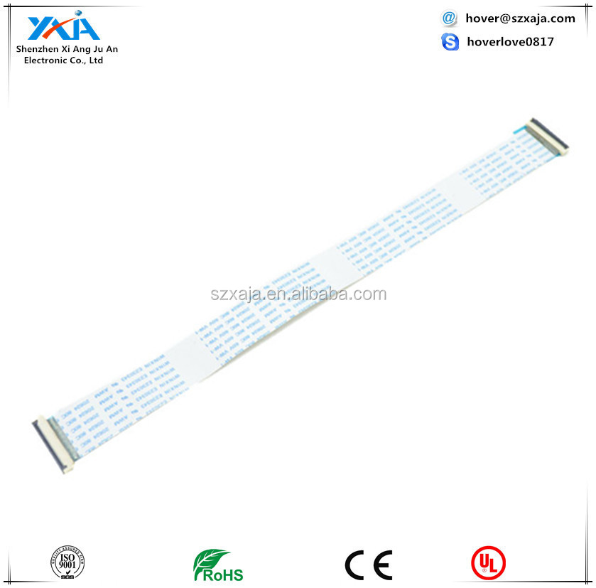 Free Shipping New FFC FPC Flexible Flat Cable Forward 30 pin Length 400 mm 1.0mm Pitch ribbon cable