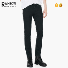 slim fit black guangdong pencil cut jeans