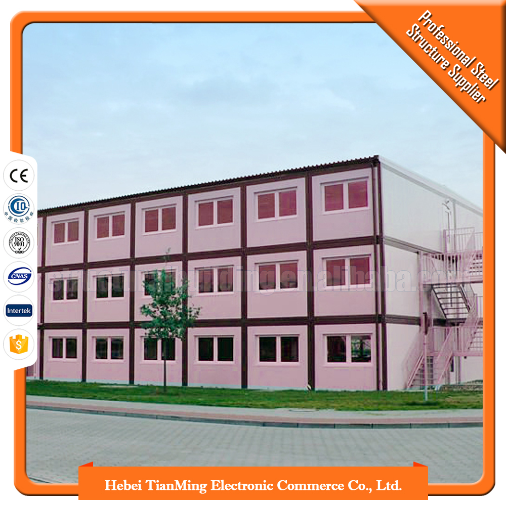 Demountable prefab tiny container house usa chile container house for pakistan china house building wholesaler companies