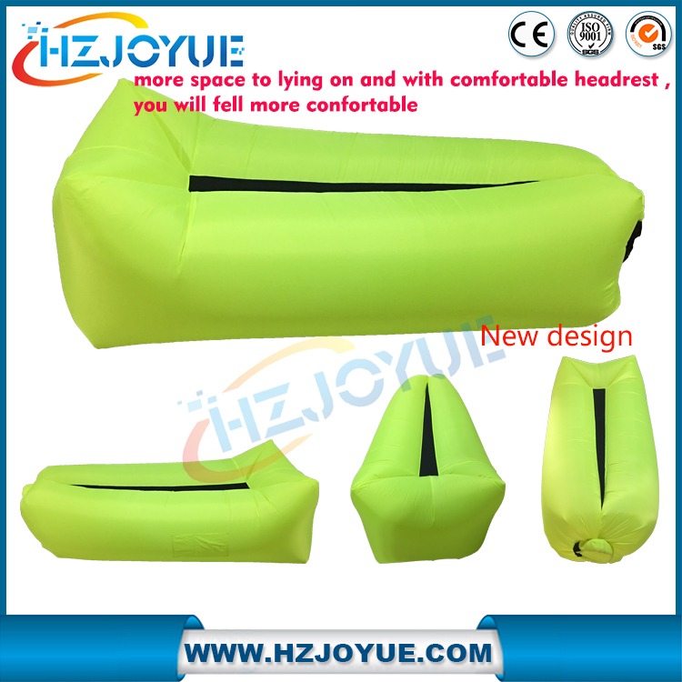 Factory wholesale inflatable beach air lounger, lazy lounger