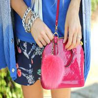 2014 fashion keychain by fox ball