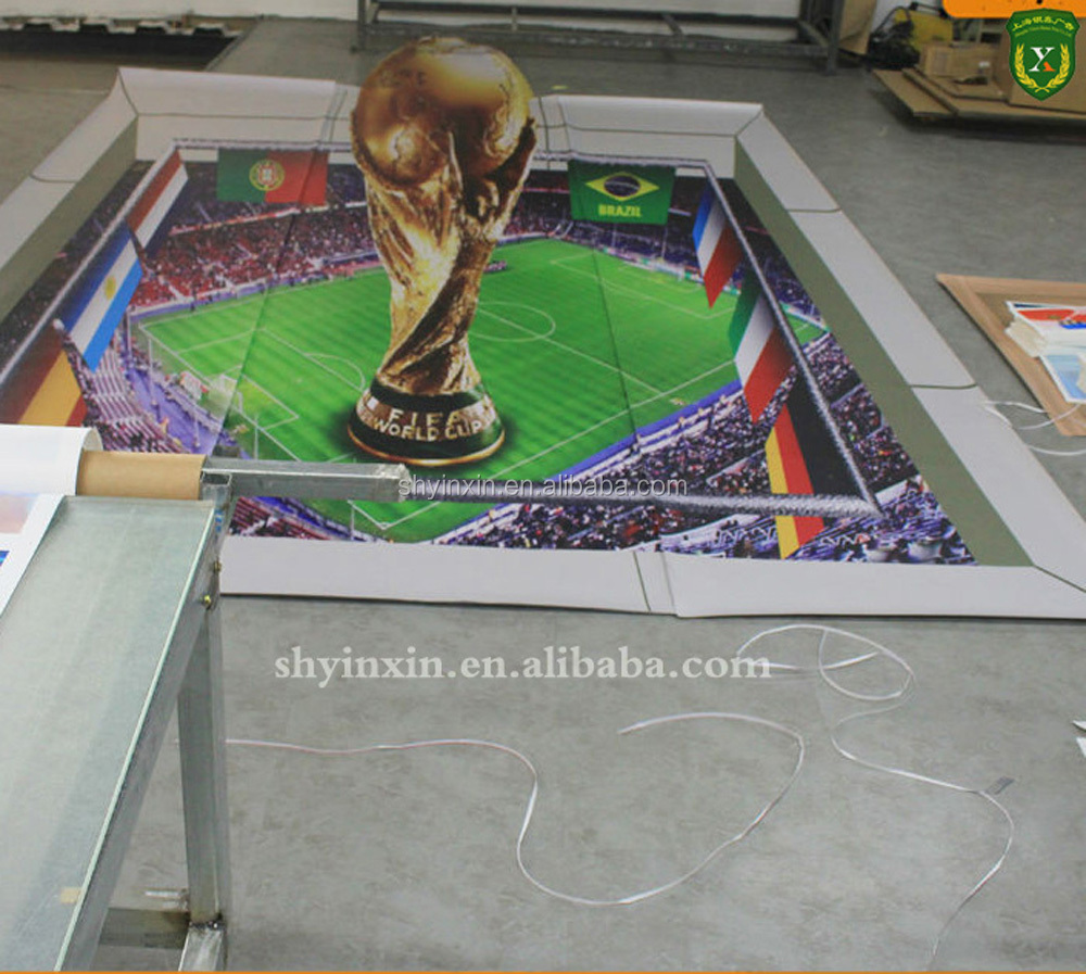 Digital printing vinyl sticker for floor decoration