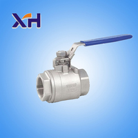 ball valves mini CE approved full port plating cock valve lockable