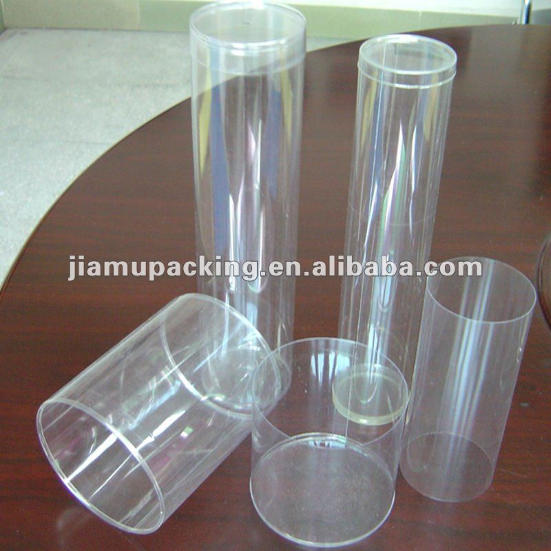 clear plastic PVC tube for golf ball