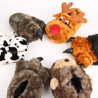 New Arrival Latest Design PP Cotton Lady Plush Indoor Slippers