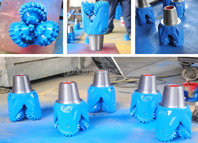 Matrix body&steel body 3 blade 5 7/8 pdc bit machine for water well drilling