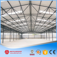 Direct Factory Supplier Galvanized Steel Structure Metal Prefabricated Building Construction Warehouse Especially For Indonesia