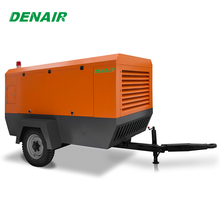 8 bar portable screw diesel air compressor 30 hp
