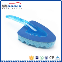 Multifunctional Durtable Soft Triangle Car Sponge With Handle