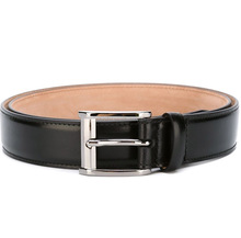 Wholesale leather belts split cow hide Guangzhou manufacturer, mans belts split cowhide leather with hand-operated buckle 2015