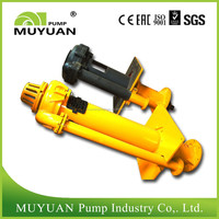 China Abrasion Corrosion Erosion Resistant Centrifugal Vertical Slurry Pump