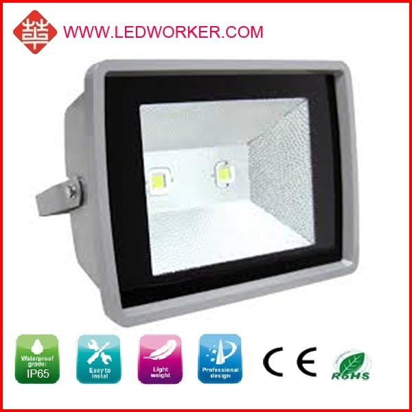 Montion sensor sen outdoor high power 150W led floodlight ,150w led rechargeable floodlight with CE, Rosh approval long lifespan
