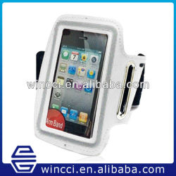 High quality Mobile phone sport case waterproof armband bag for iphone 4 4s