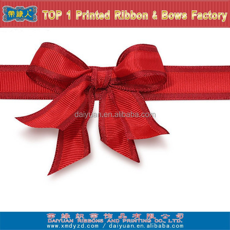 100% polyester pull bow ribbon