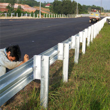 highway guard rail w beam with AASHTOM180