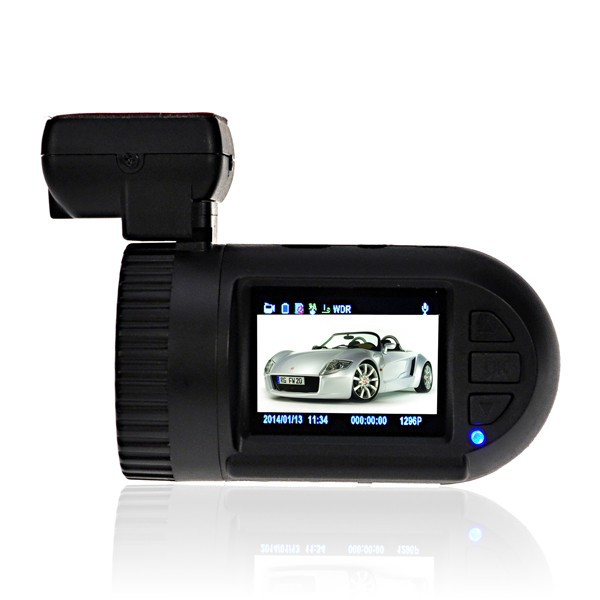 1.5 inch Mini 0805 G-sensor 1296P full HD car DVR Dash Camera