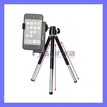 Mini Stand Tripod Holder For iPhone 3GS/4 Camera Cell Mobile Phone