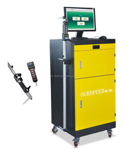 Our-Speed car tyre repair equipment chassis dyno for sale measuring system