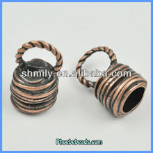 Wholesale Hot Alloy Jewelry Bell Pendants Copper Color PB-A18092