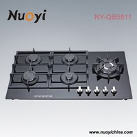 Hot design 2016 Nuoyi Kitchen Appliances Gas stove gas cooker gas cooker hob and hood