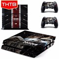 Skin Sticker For Playstation 4 PS4 Console Controller