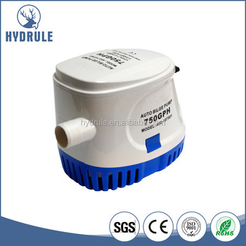 DC 12V 750GPH Boat Submersible price water pump for auto With Float Switch
