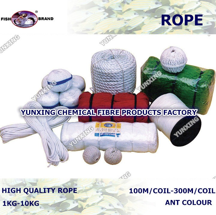 colour polyethylene packing rope price
