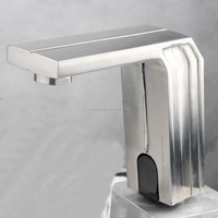 modern automatic shut off faucet temperature control