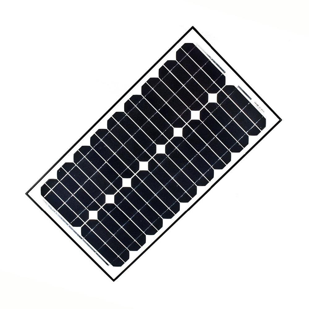 Small polycrystalline monocrystalline 12V 30W solar panel price india
