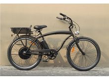 "2015 new style beach cruiser bicycle 26"" x 2.125 fat tire snowmobile electric bike 1000w"