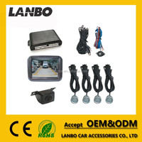 Competitive Price LCD Mirror Monitor HD Night Vision Camera 4 Sensors Universal Car Reverse Parking Rear View System