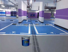 Acrylic polyurethane outdoor floor paint floor poly acrylic paint