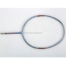 High Quality Custom Logo Full Carbon Graphite Fiber Badminton Racket (V7)