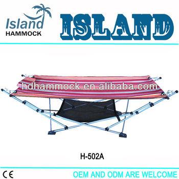 hot sell foldable hammock with carry bag