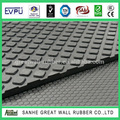 cheap small squared cow mat / high quality livestock rubber sheet / factory produced rubber mat