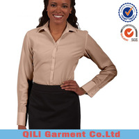 hot selling Ladies blouses and top ladies office wear clothing