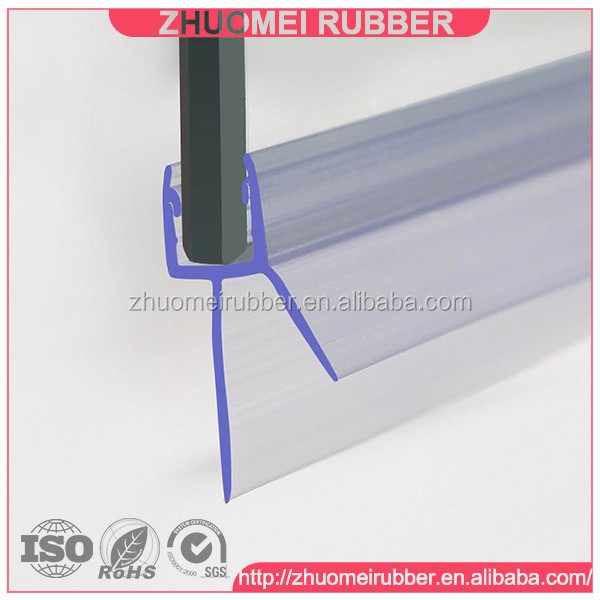 Clear Plastic Shower Door Seal Strip   Buy Shower Door Strip,Plastic Water  Seal,Glass Door Threshold Product On Alibaba.com