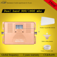 House dual band 850/AWSmhz mobile signal booster,2g 3g 4G signal repeater LCD