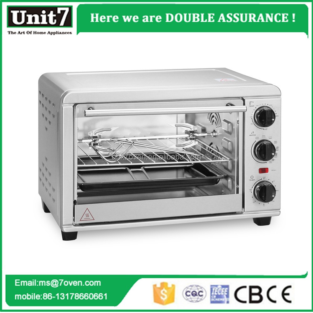 chicken oven rotisseries stainless body bread toaster electric oven