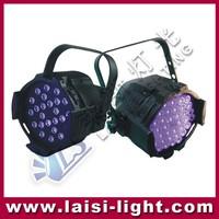 led par light 36 x 3w color Disco stage RGB UV PAR light