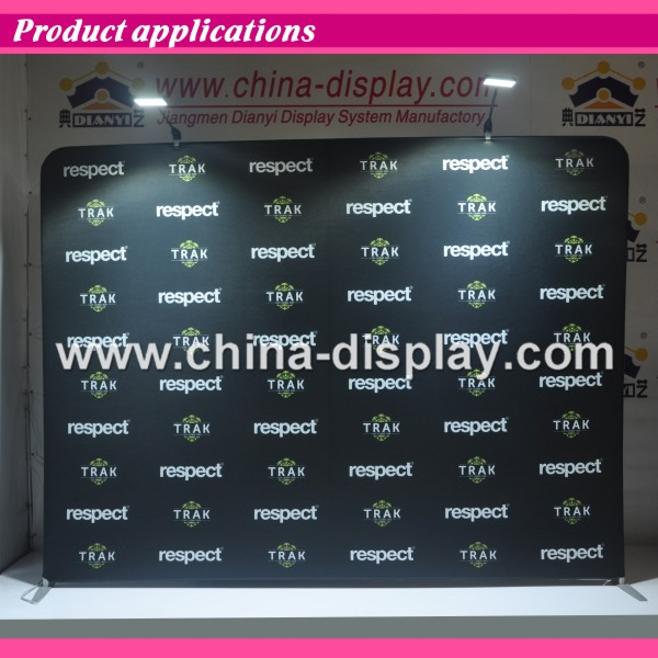Advertising Portable Wrinkle Free Exhibition Display Stand