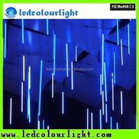 DMX vertical 360 degree rgb led tube 3d vertical tube