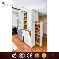 wholesale utility assemble wooden kitchen cabinets storage with drawer